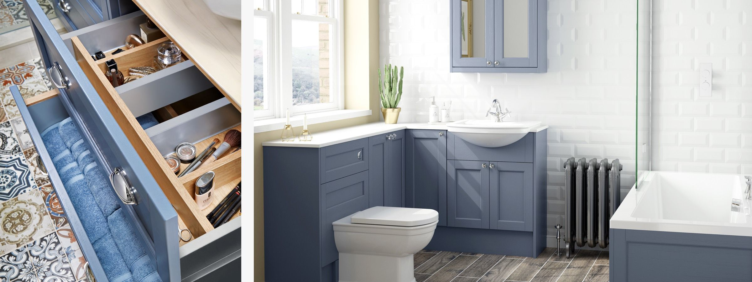 Beautifully Traditional Family Bathroom