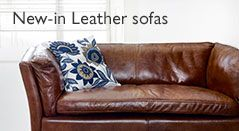 New-in Leather sofas