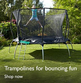 Trampolines for bouncing fun