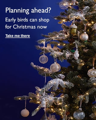 Christmas: Planning Ahead? Early birds can shop for Christmas now