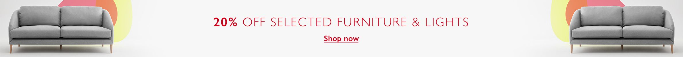 Furniture & Lighting Easter Offers