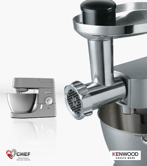 Free attachment with Kenwood Chef