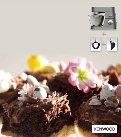 Free with Kenwood Chef for better baking