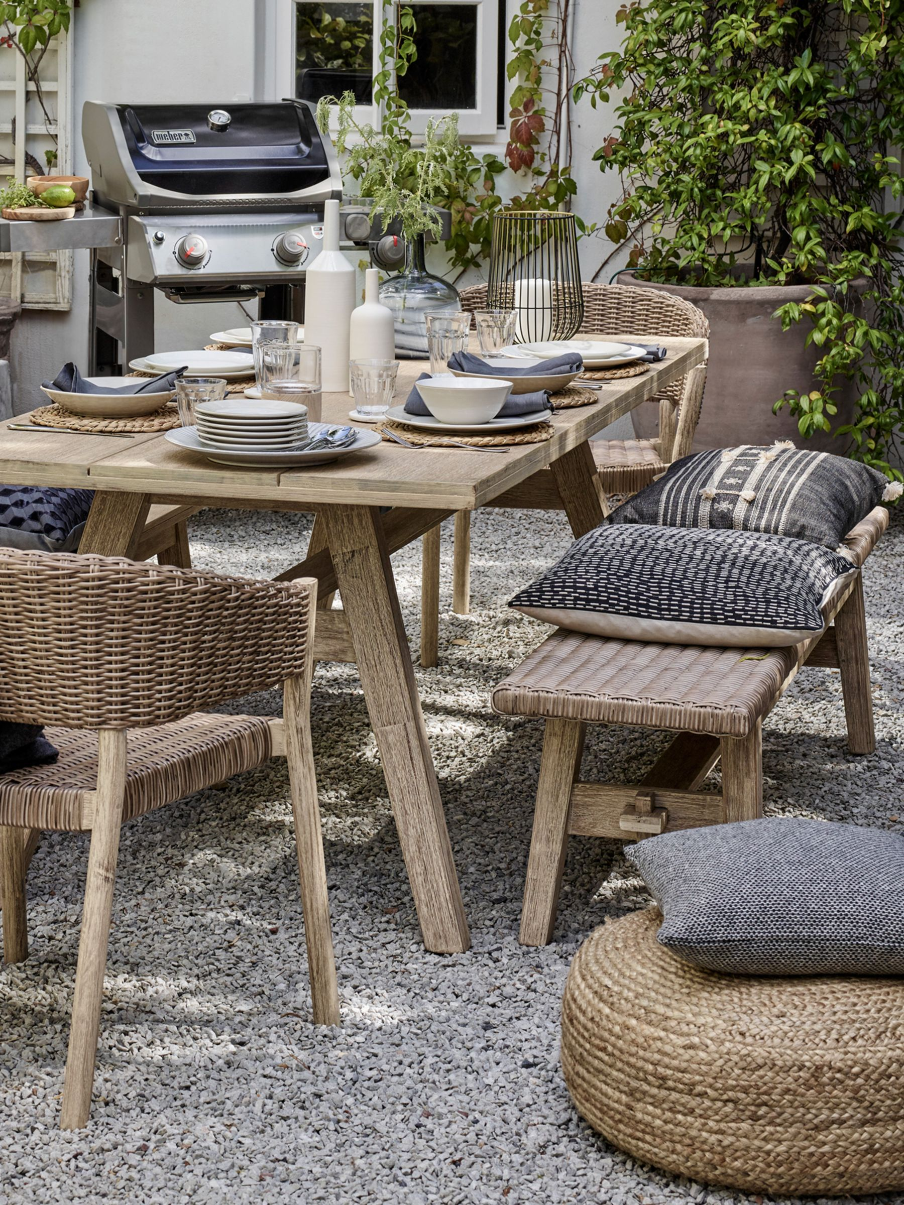 Strange Garden Furniture Garden Tables Chairs Rattan John Home Interior And Landscaping Elinuenasavecom