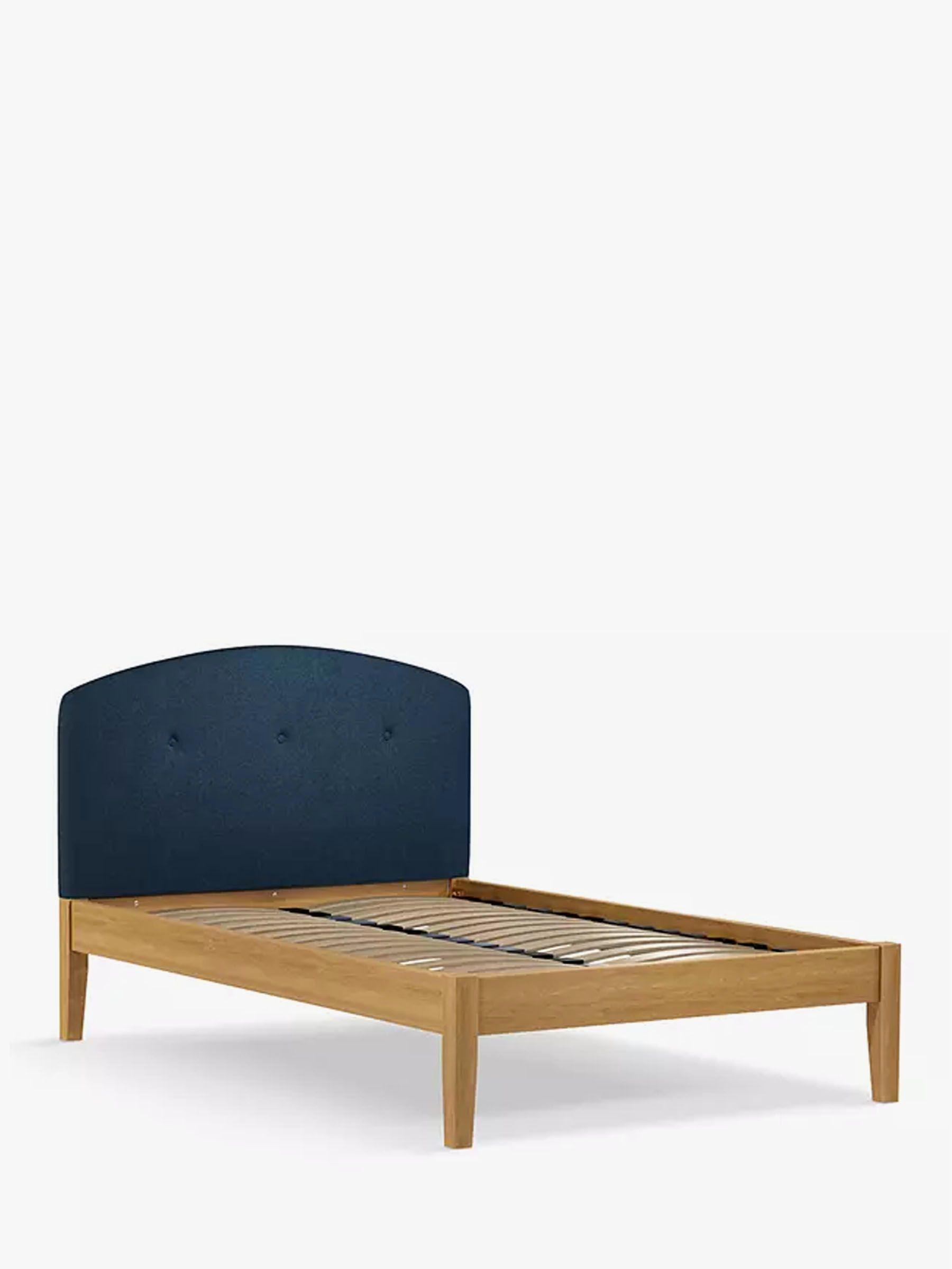 John Lewis & Partners Grace Kitami Bed Frame, Small Double, Saga Ocean