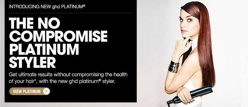 ghd the no compromise platinum styler