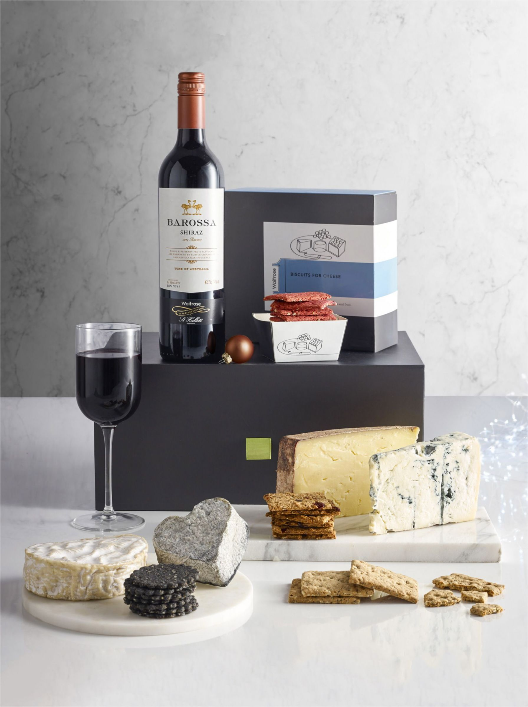 Mouse over image for a closer look. Waitrose 1 Cheese & Wine Gift Box