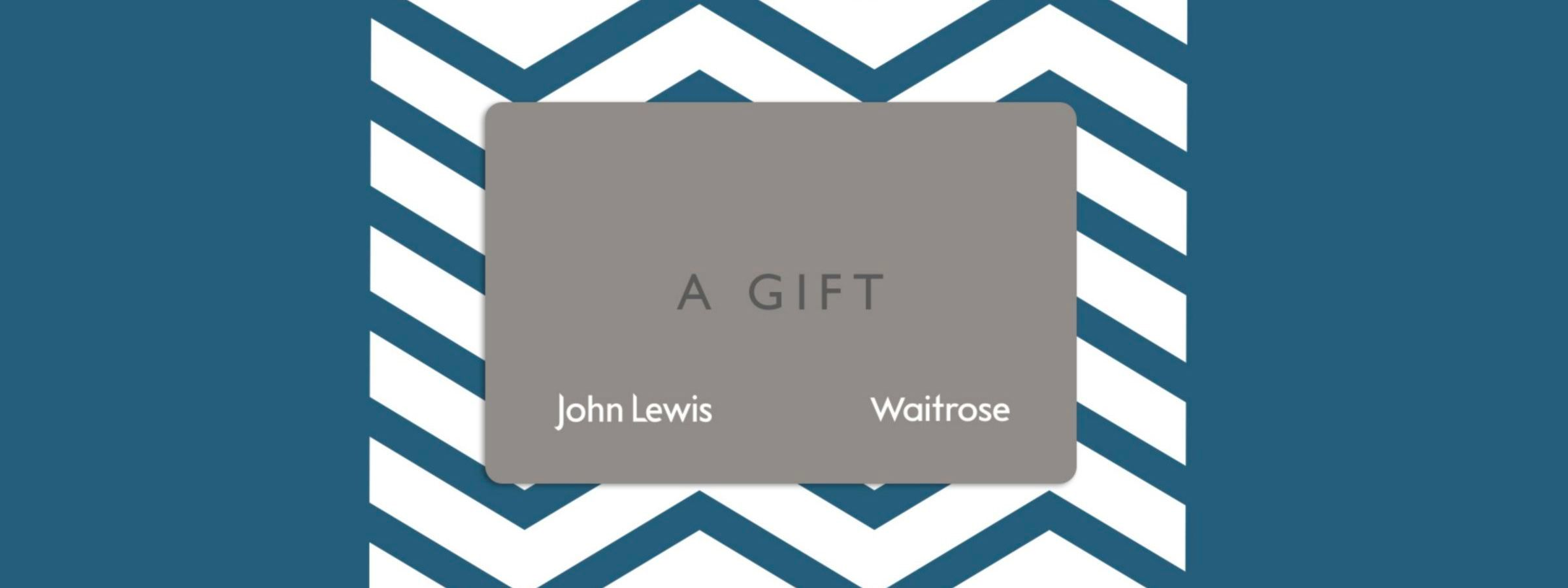 John Lewis gift cards and vouchers guide