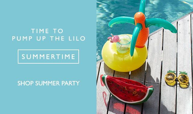 Time to pump up the lilo Summertime