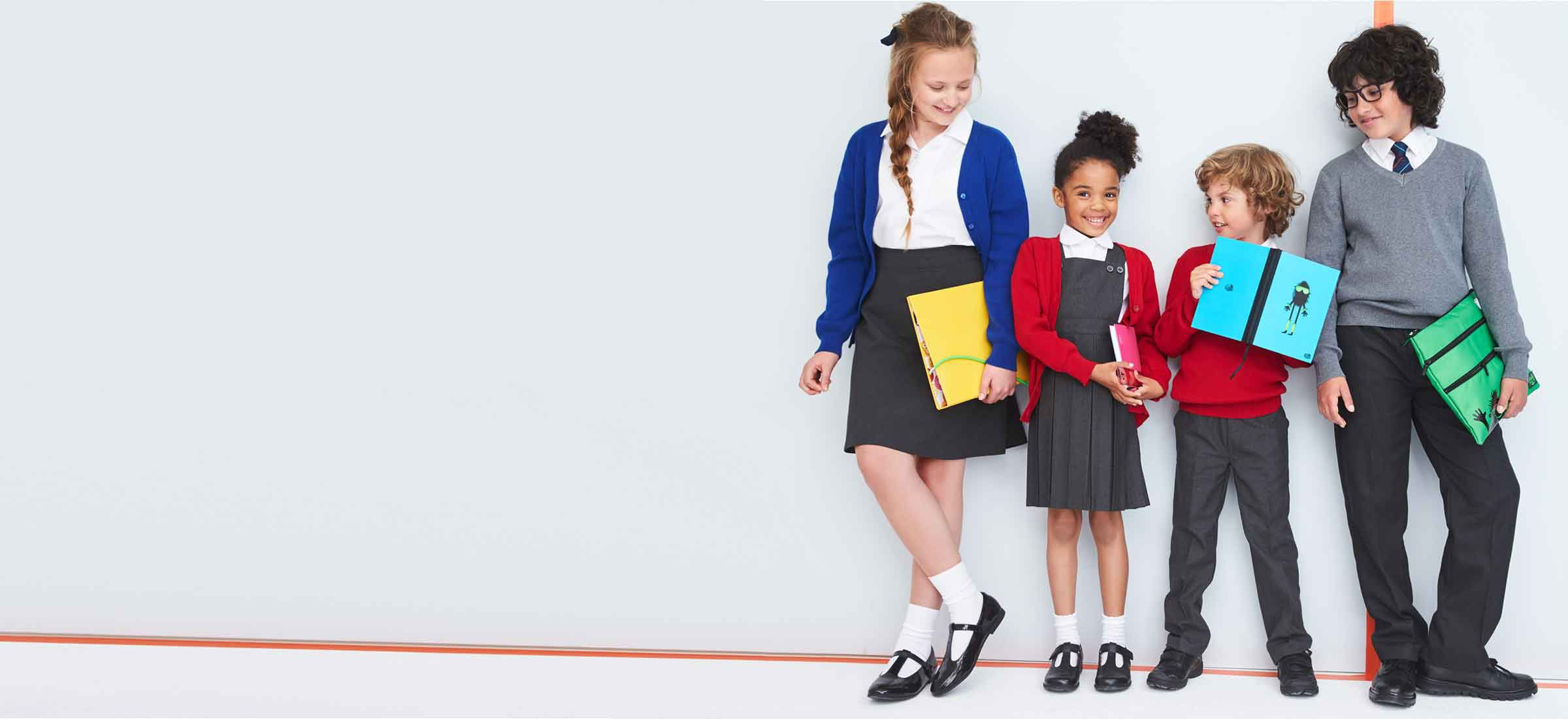 Our school uniform is market-leading thanks to the ingenious designs, extra protection on the fabrics and clever finishing touches