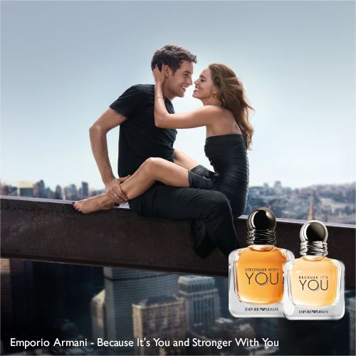 Emporio Armani - Because It's You and Stronger With You