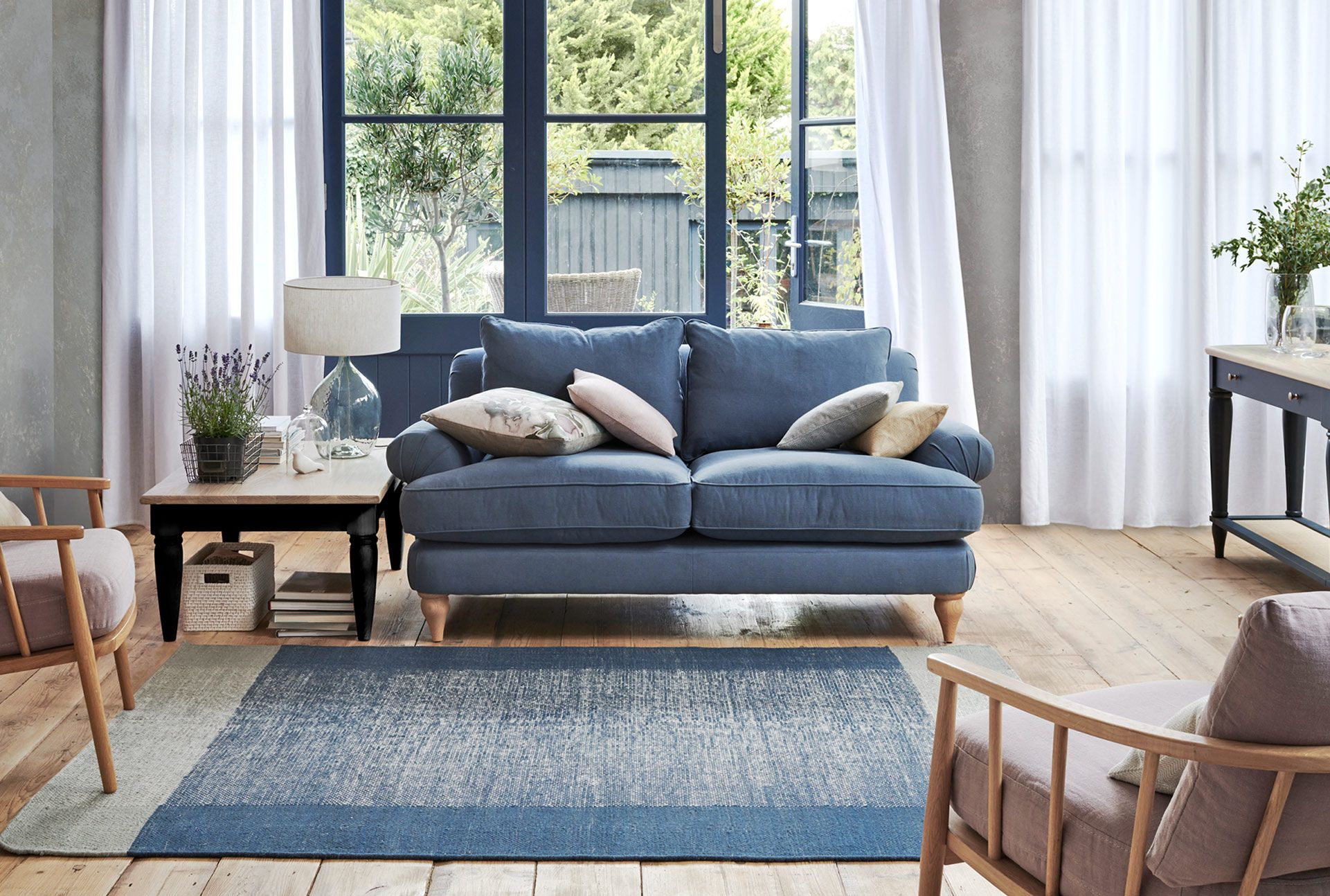 how to style the john lewis interior design trends for a w. Black Bedroom Furniture Sets. Home Design Ideas