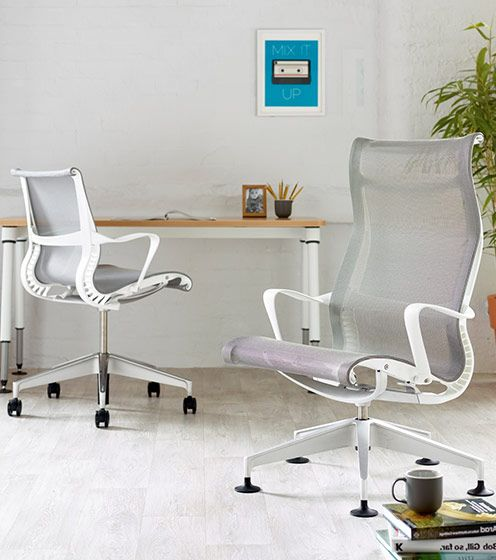 Choose an ergonomically designed office chair to raise your fort level
