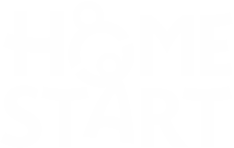 Home Start Logo White