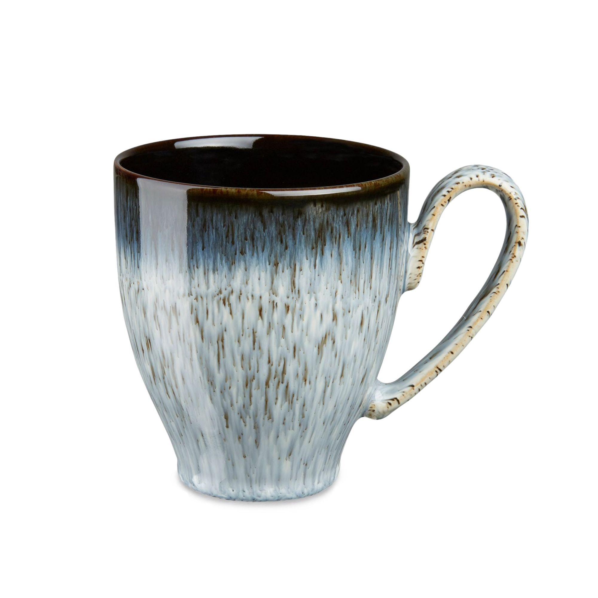 Denby Studio Blue Pasta Bowls, Chalk/Blue, Dia.22cm, Set of 4