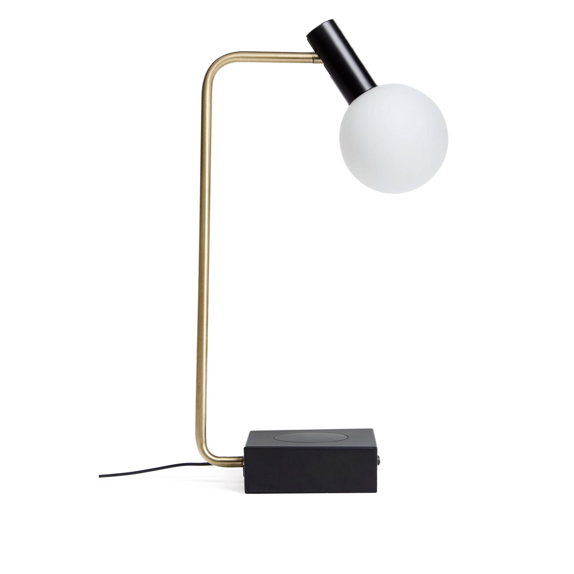 John Lewis & Partners Boundary Bar Ceiling Light, Brass/Pewter