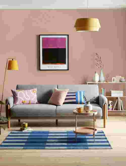 Incredible The Subtle Art Of How To Dress A Sofa With Cushions And Onthecornerstone Fun Painted Chair Ideas Images Onthecornerstoneorg