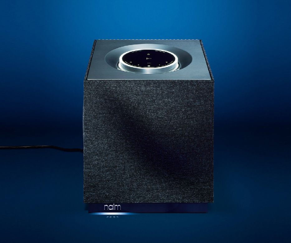 Naim Audio Mu-so Qb 2nd Generation Wireless Bluetooth Music System with Apple AirPlay 2, Spotify Connect & TIDAL Compatibility