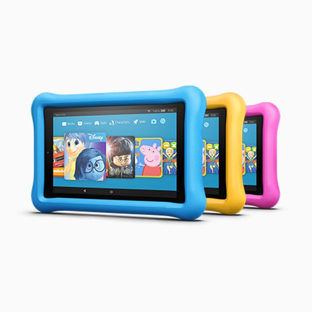 Amazon Kindle in a variety of colours