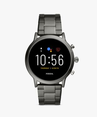 Track your workouts, monitor your heart rate and connect to your favourite playlist with Fossil's lightweight smartwatch