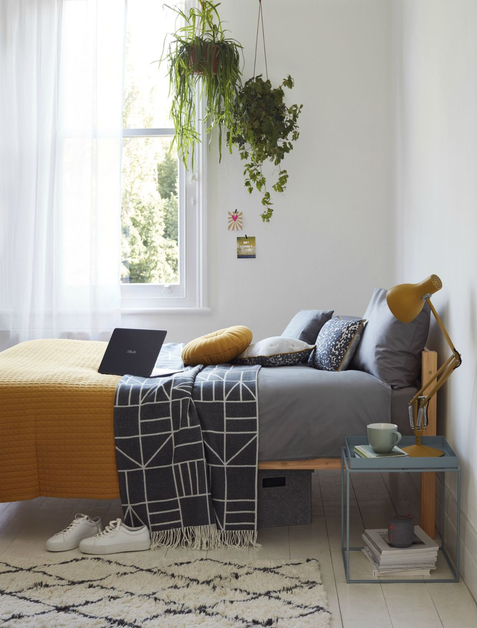 interior design for student wellbeing, student bedroom