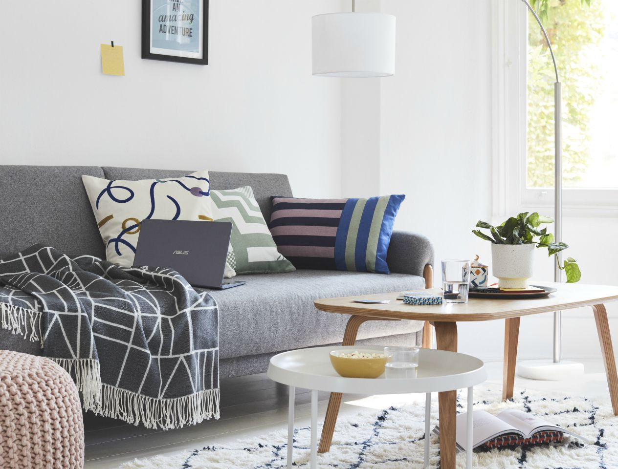 interior design for student wellbeing, student living room