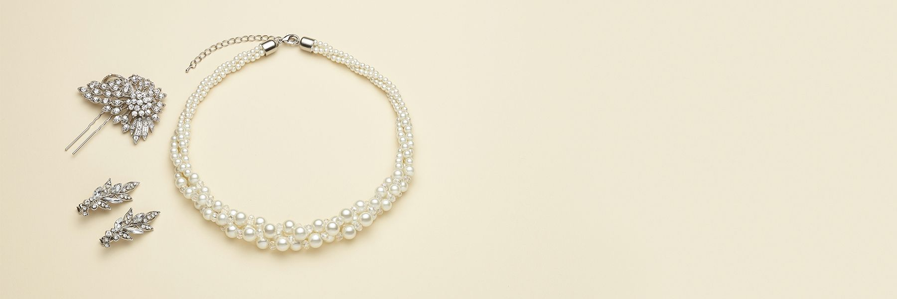 Pearl jewellery at John Lewis