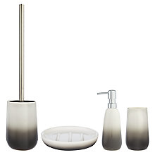 Buy John Lewis Grey Ombre Bathroom Accessories Online at johnlewis.com