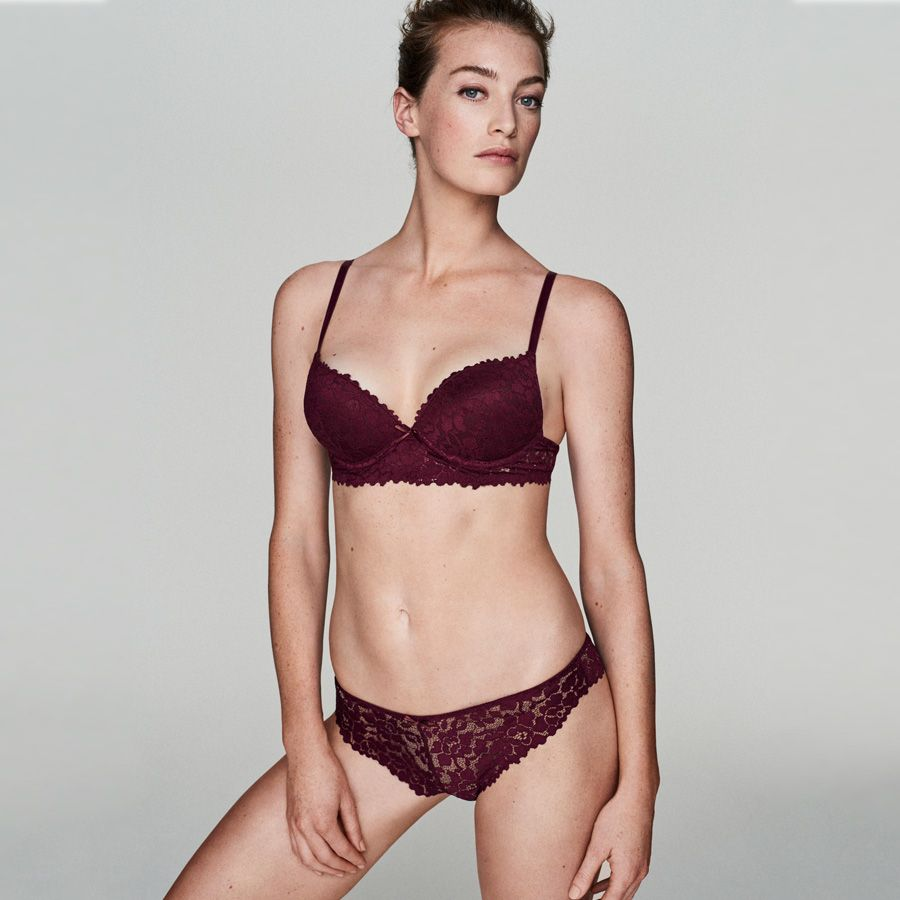 Are there any matching bra and panties for bigger chested girls?