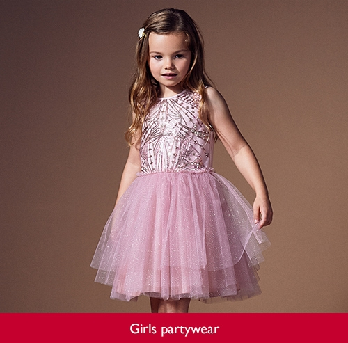 Girls partywear