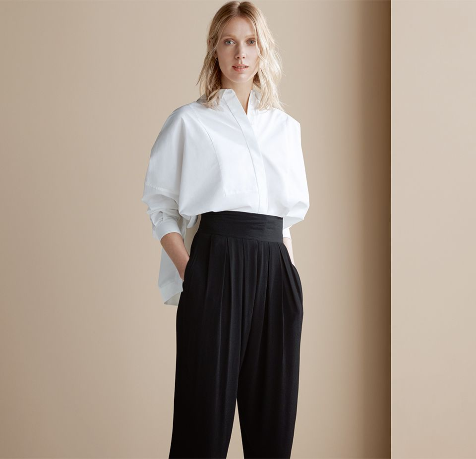 Kin by John Lewis Laura Slater Limited Edition Hareem Trousers, Black