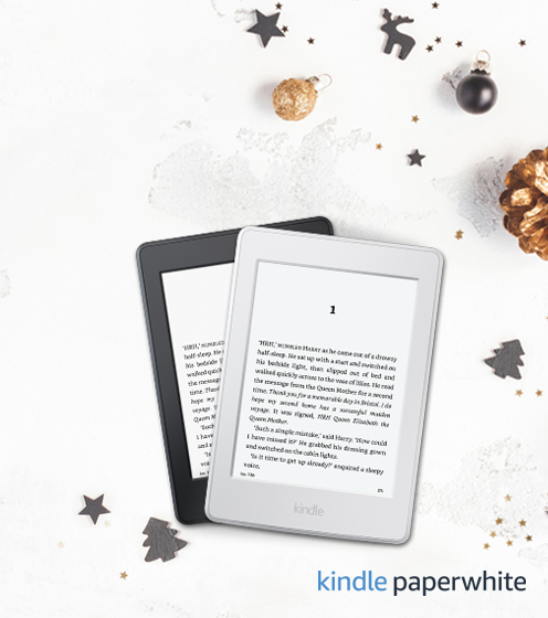 Kindle Paperwhite tablet