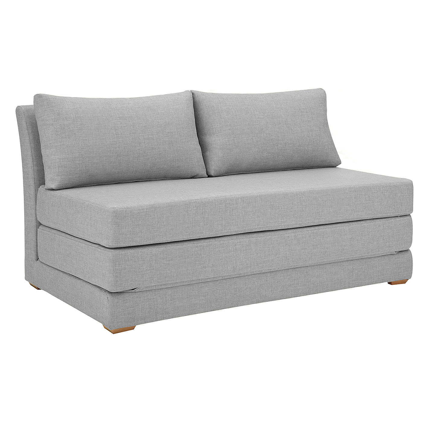 Buy John Lewis Kip Small Sofa Bed with Foam Mattress Light Leg