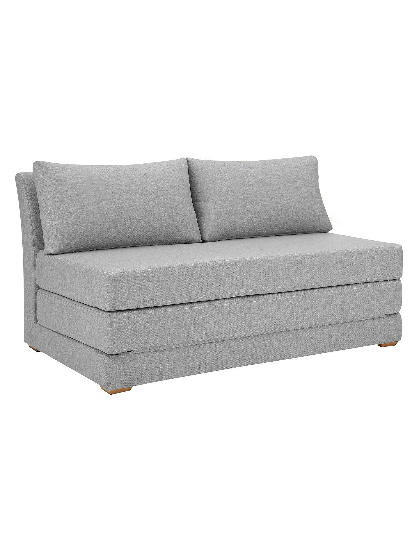 John Lewis Kip Small Sofa Bed Fraser French Grey At John