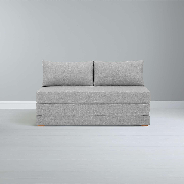 John Lewis Kip Small Sofa Bed With Foam Mattress, Light