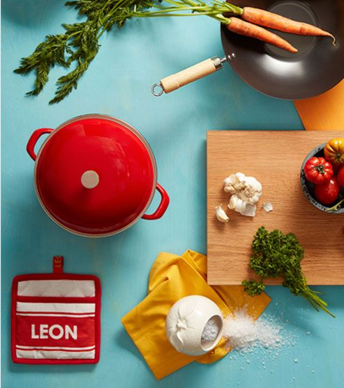 Colourful kitchen essentials