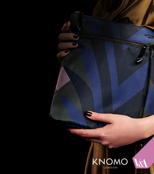 Knomo and V&A bag