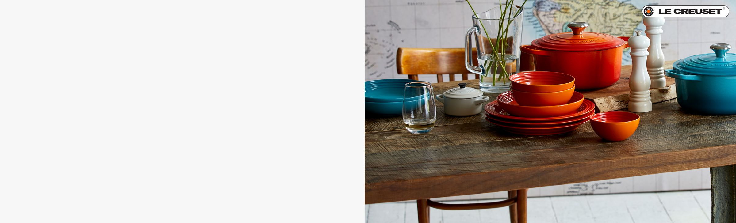 DISCOVER LE CREUSET