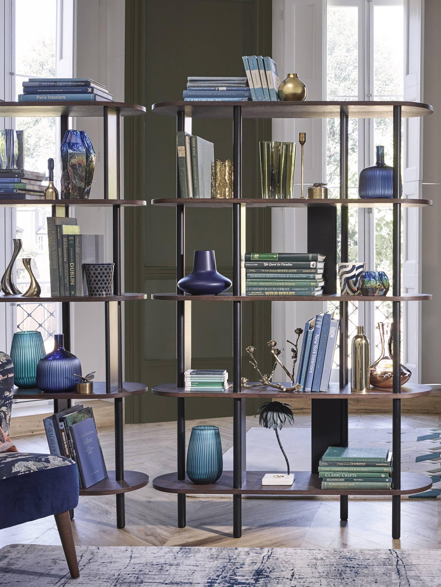Bookcases shelves
