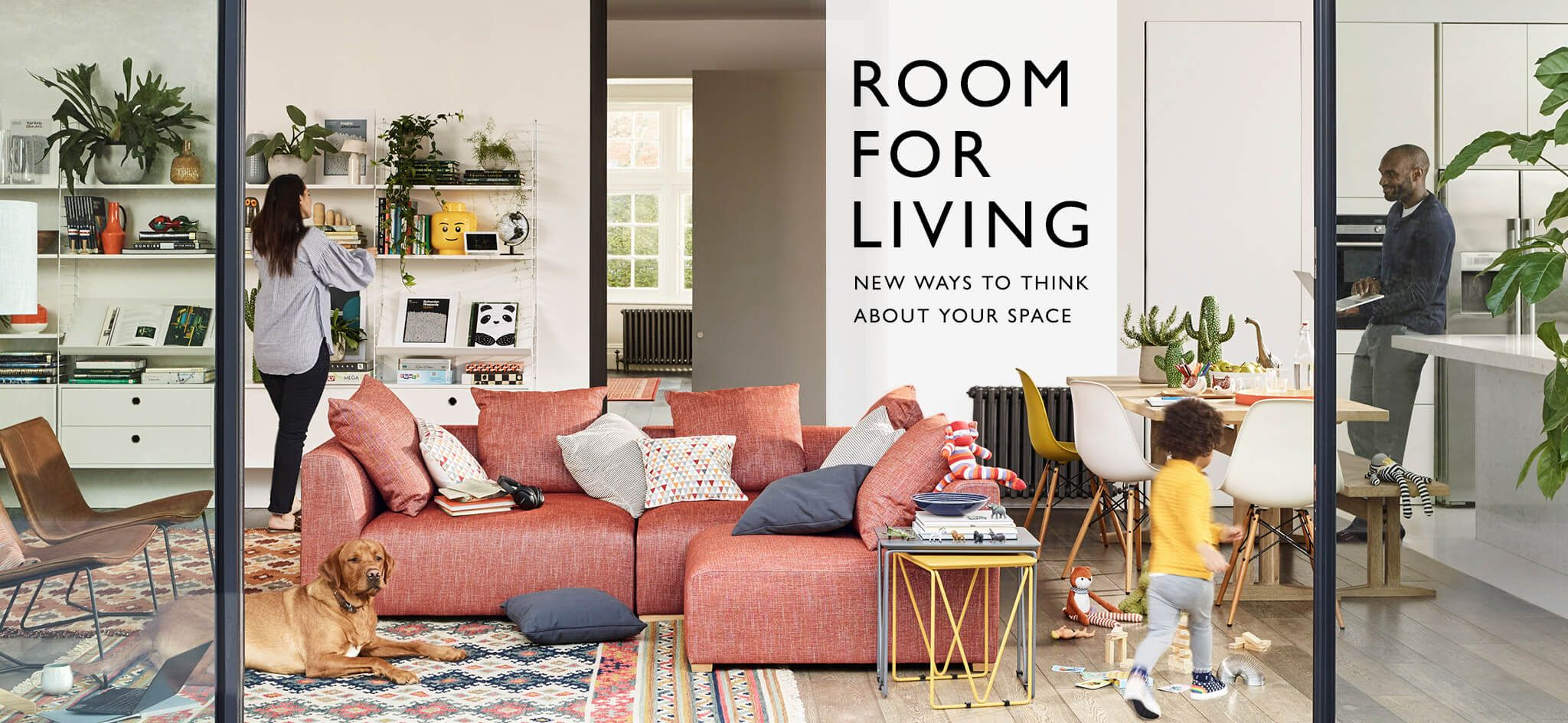 46578fbecb We've created five living rooms to reflect how we live now. It's not just  about creating a look, it's about making the room work for you and your  lifestyle.