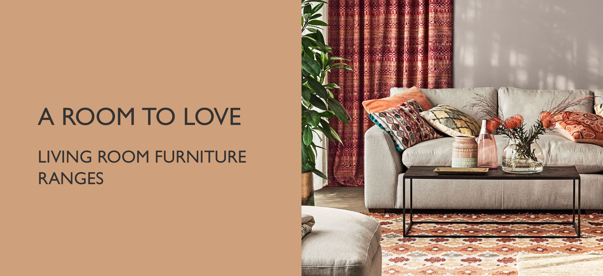 Living Room Furniture ranges