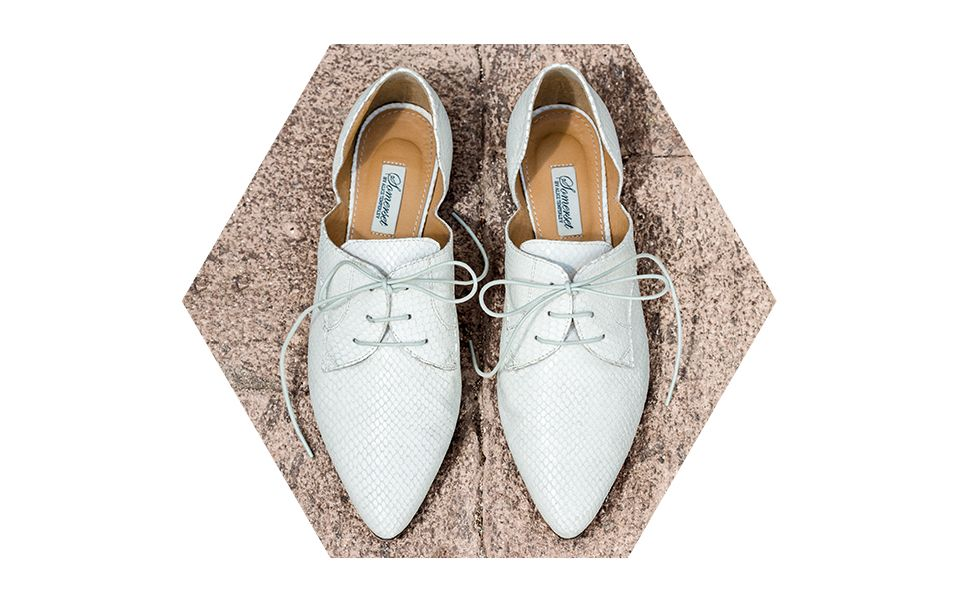 Somerset by Alice Temperley Fiddington Cut Out Brogues