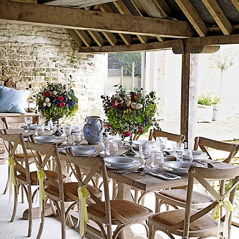Buy John Lewis Marcelle Pedestal 6-10 Seater Extending Dining ...