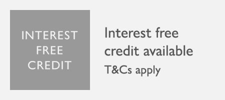 Interest free credit available on selected lines