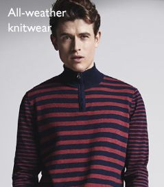 All-weather knitwear