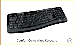 Microsoft Comfort Curve 3000 Wired Keyboard