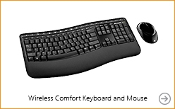 Microsoft Wireless Comfort Desktop 5000 Keyboard and Mouse