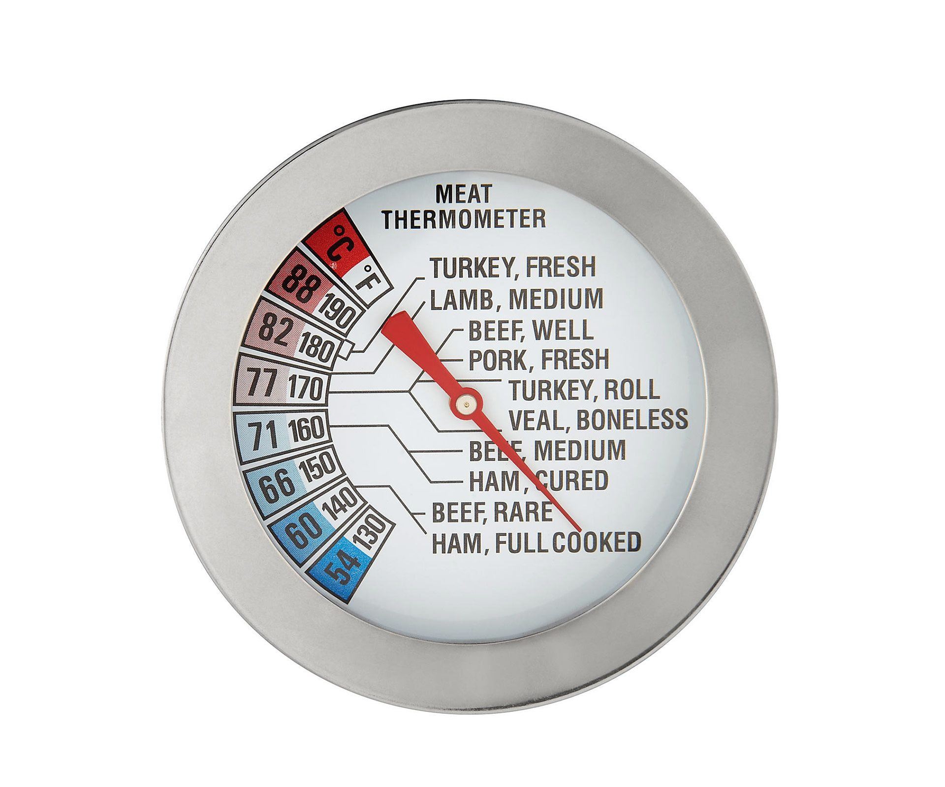 John Lewis Stainless Steel Meat Thermometer