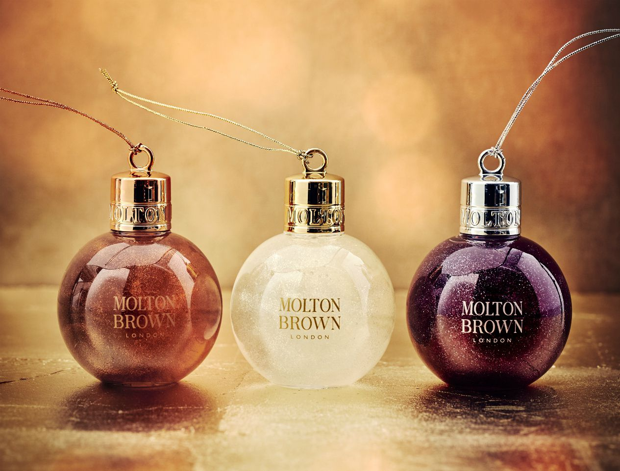 Molton Brown baubles