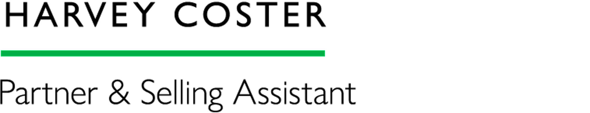 Harvey Coster - Partner & Selling Assistant